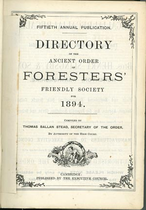 Foresters Directory