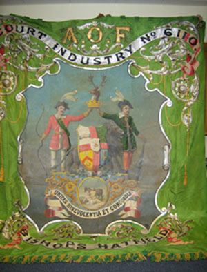 Court No. 6110 Banner - Obverse